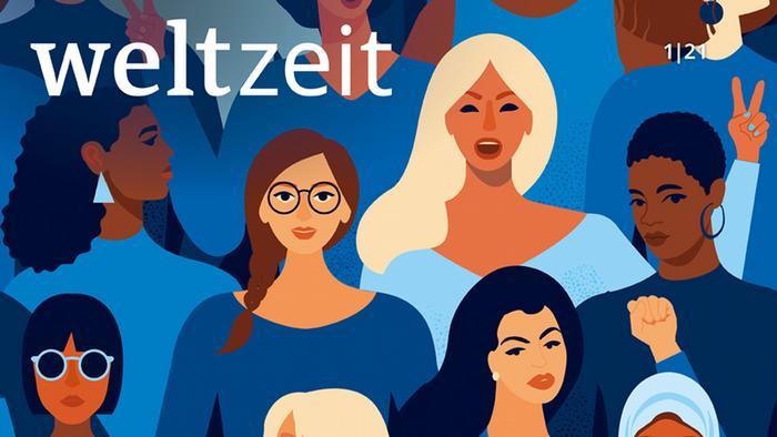 Weltzeit 1 | 2021 | Weltzeit- Banner Frauen