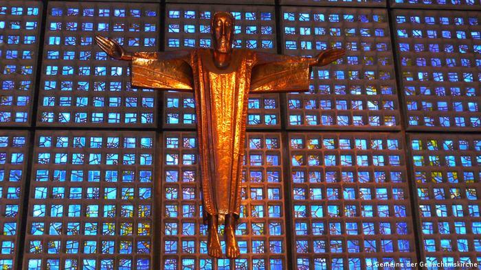 Estátua de Cristo da Igreja Memorial Imperador Guilherme, de Berlim