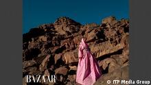 Saudi Arabien - Fashion Harpers Bazaar Magazin Cover