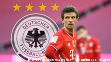 Montage | Thomas Müller-Rueckkehr ins DFB Team