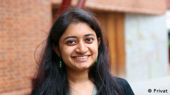 DW editor Ankita Mukhopadyay