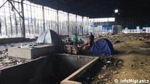Kroatien Migranten in Velika Kledusa