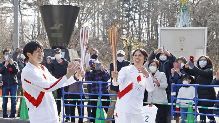 Эстафета Олимпийского огня в Японии