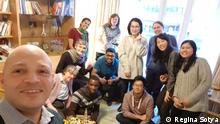 Neue Freunde finden in Deutschland - Regina Sotya
