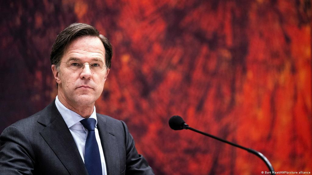 Dutch PM Mark Rutte narrowly survives no-confidence vote | News | DW |  02.04.2021