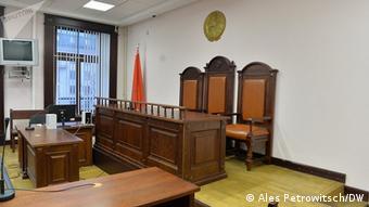 зал суда в Кобрине