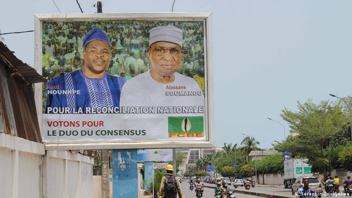 Cotonou, Benin   Wahlkampagne