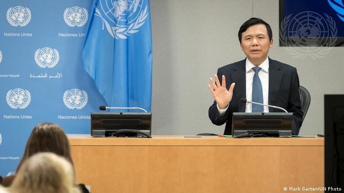 UN Sicherheitsrat Pressekonferenz | Dang Dinh Quy