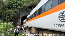 Taiwan Zugunglück Hualien
