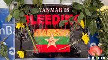 Myanmar Militärputsch Proteste Gewalt Trauer