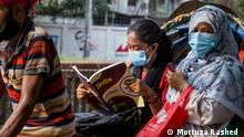 In Bangladesh, as many as 122,761 students today (02.04.2021) took part in the entrance exam for medical colleges amid the coronavirus pandemic. Copyright: Mortuza Rashed