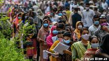 Bangladesch Aufnahmeprüfung für medizinische Colleges inmitten der Coronavirus-Pandemie