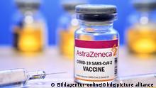 Coronavirus Symbolbild Impfstoff AstraZeneca