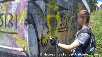 Μεγάλη Βρετανία / αστυνομικός Μπέντζαμιν Χάναμ / μέλος National Action Group