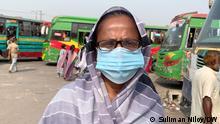 Bangladesch Dhaka Verkehr Passagiere