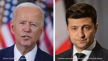 Bildcombo I Joe Biden und Wolodymyr Selenskyj