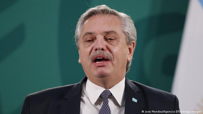 Президент Аргентины Альберто Фернандес