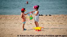 BdTD Hong Kong | Kinder am Strand