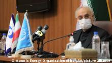 Iran IAEA-Leiter Rafael Mariano Grossi in Teheran
