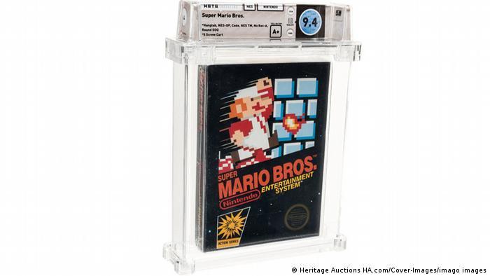 NES Nintendo Super Mario Bros (1985)
