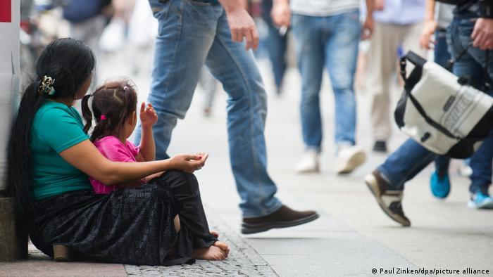 Symbolbild Kinderarmut in Europa