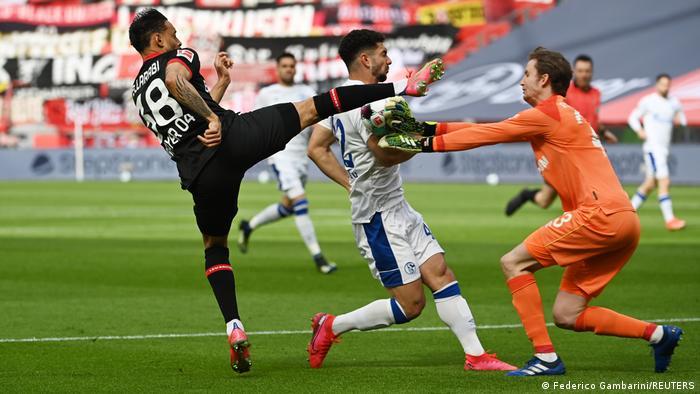 Fußball Bundesliga 27. Spieltag |Bayer 04 Leverkusen vs. FC Schalke 04