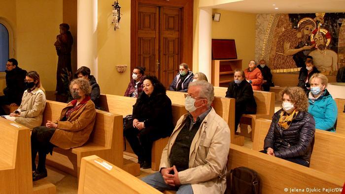 Vernici u crkvi u Nišu