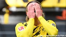 Fußball Bundesliga | Borussia Dortmund vs. Eintracht Frankfurt |Erling Haaland