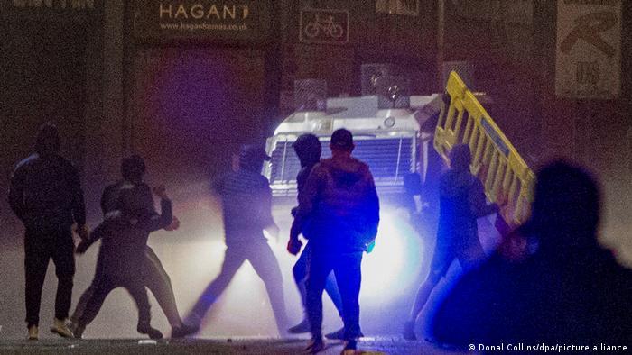 Nordirland Belfast |Unruhe und Gewalt, Loyalisten