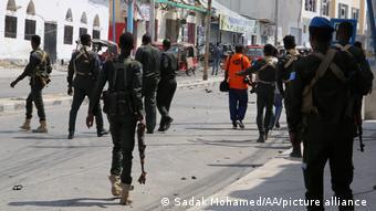 Somalia Mogadischu Selbstmordanschlag Polizei