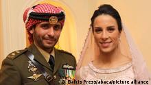 Jordanien Prinz Hamzah al-Hussein Hochzeit
