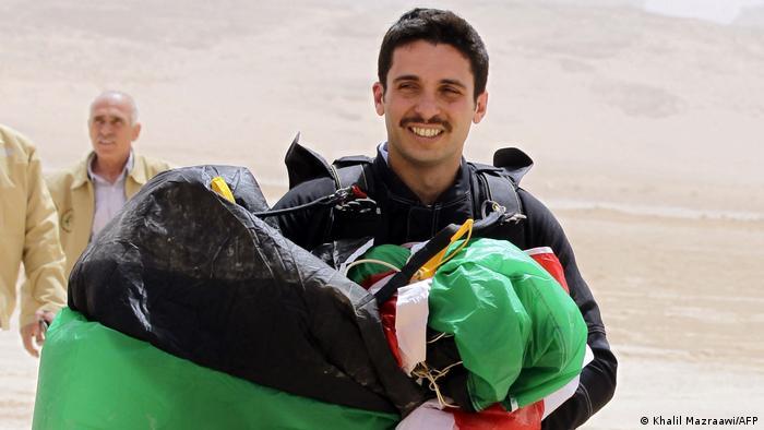 Princ Hamza omiljen je u nekim krugovima u Jordanu (slika iz 2012)