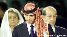 Jordanien Prinz Hamzah al-Hussein Japan 2000