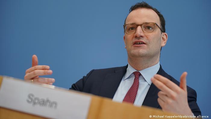 Jens Spahn Bundesgesundheitsminister Coronavirus Pressekonferenz