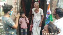 Indien Slums von Kalkutta