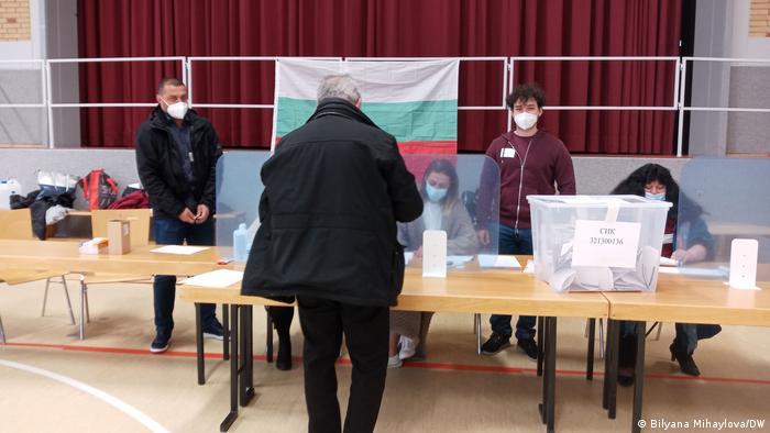 Избирателната секция в Бон