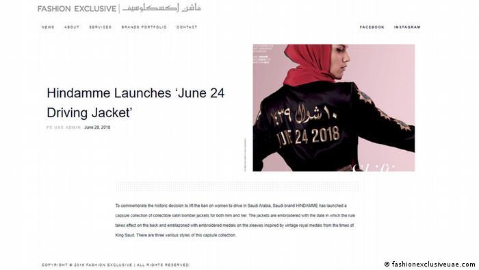 Screenshot | Fashion Exclusive | Hindamme Jacket 24 June 2018