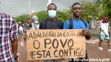 Angola I Opositions Protest der UNITA Partei in Luanda