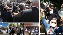 Iran Rentner Protest