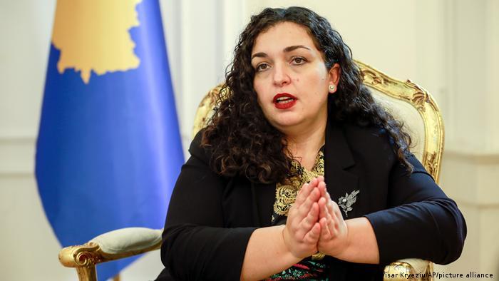 New Kosovo President Vjosa Osmani