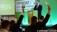 Parteitag der russischen oppositionellen Partei Yabloko