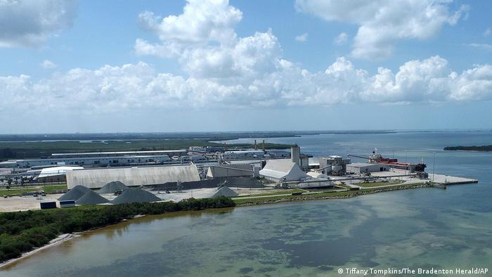 Piney Point phosphate mine