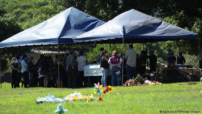 El Salvador Beerdigung Victoria Esperanza Salazar