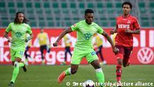 VfL Wolfsburg - 1. FC Köln Ridl Baku