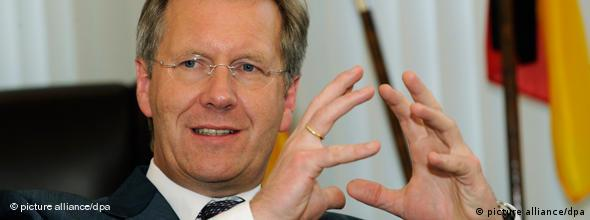 NO FLASH Christian Wulff CDU