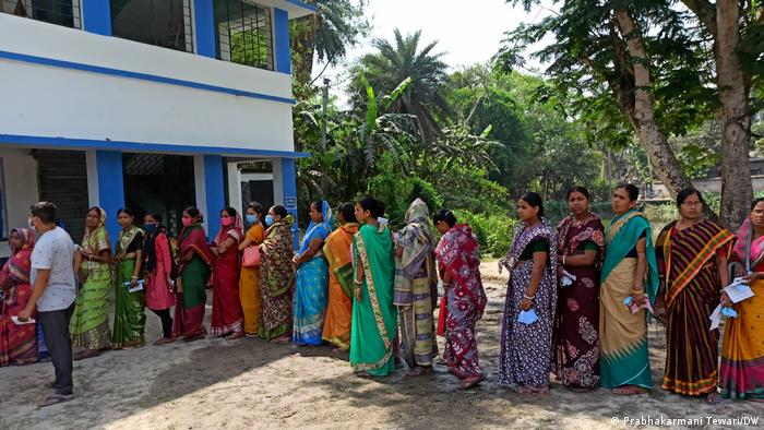 Women in west Bengal elections