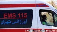 Iran | Krannkenwagen in Teheran