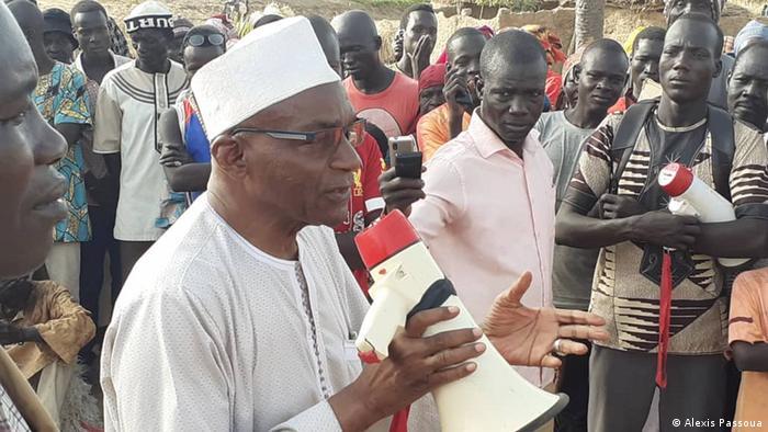 Tschad | Wahlkampf Saleh Kebzabo