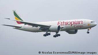 Fluggesellschaft Ethiopian Airlines   Frachtflugzeug Boeing 777F