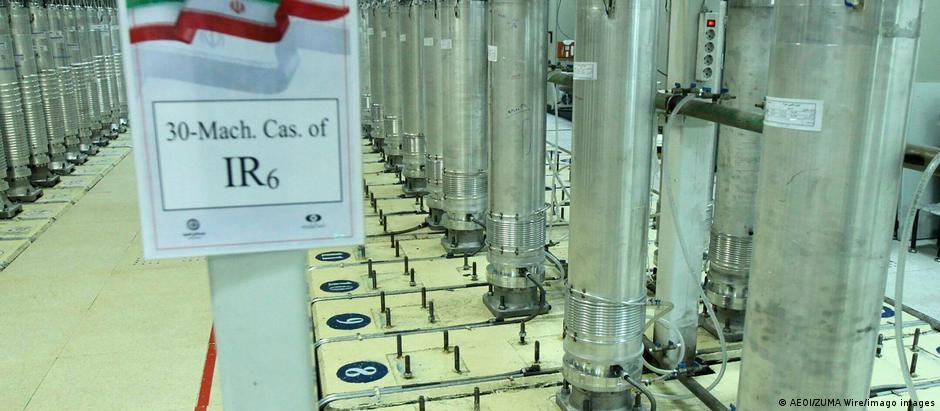Iran Urananreicherungsanlage in Natanz